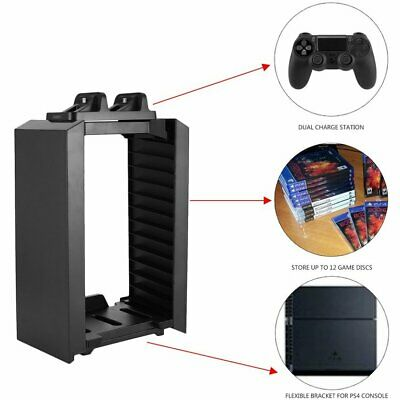 Multifunctional Storage Vertical Stand Kit for PS4 Series for X-ONE S YF