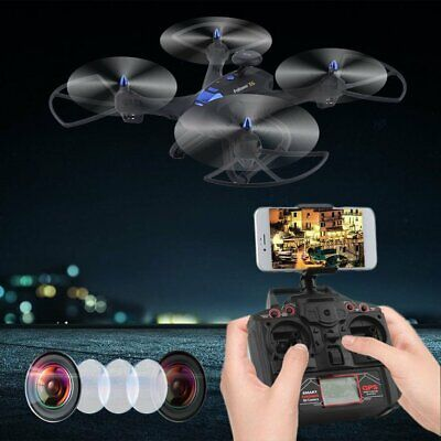Wifi Drone With 2MP HD Camera GPS Quadcopter 6-Axles RC Quadcopter YF