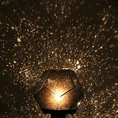 Starry Sky Projector Light Cosmos Four Seasons Constellation Projection Lamp~w