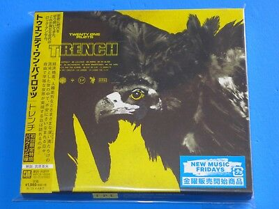 2018 JAPAN TWENTY ONE PILOTS TRENCH CD w/SLIP CASE