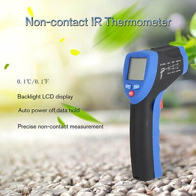 FLUS IR-808 Non-Contact Laser Digital Termometer Infrared Surface TemTYrat TY