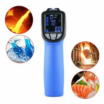 FLUS IR-817 Dew Point Infrared Thermometer With Audible/Visuable Alarm K T TY