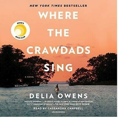 Where the Crawdads Sing By Della Owens AUDIOBOOK (e-Delivery)