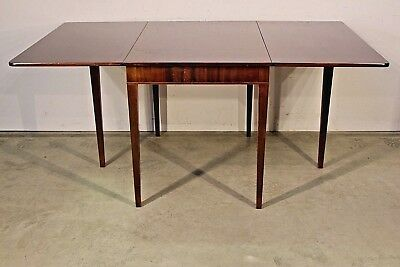 Antique Shaker extension dining table mahogany seats 8 Swedish Gustavian sturdy