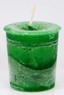 "Crystal Journey Candle's ""Money"" Reiki Charged Votive Candle!"