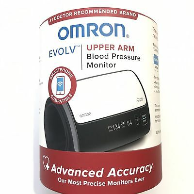 Omron BP7000 EVOLV Wireless Upper Arm Blood Pressure Monitor NEW Meter