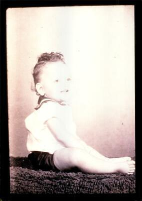 President Clinton pictured when he was children - Vintage photo