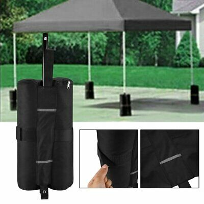 4pcs Portable Canopy Tent Legs Weight Bags Outdoor Shelter Windproof Sand B PE