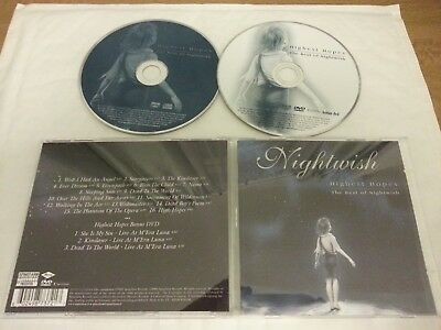 NIGHTWISH - Highest hopes - THE BEST OF  (CD + DVD - BRAND NEW !) £4.99 Freepost