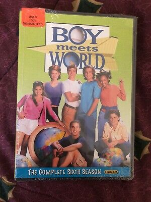 Boy Meets World The Complete Sixth Season 3 Disk Set - Used And Opened DVDs