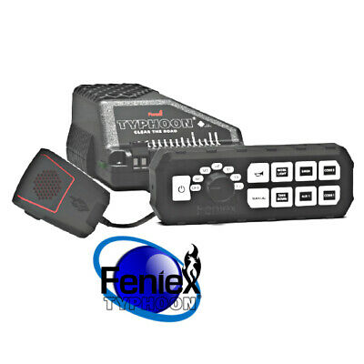 FENIEX TYPHOON FULL FUNCTION Controller Siren all in one 100W USA