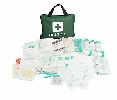 NEW 210Pcs Deluxe First Aid Medical Kit Travel Safe Workplace Family Emergency