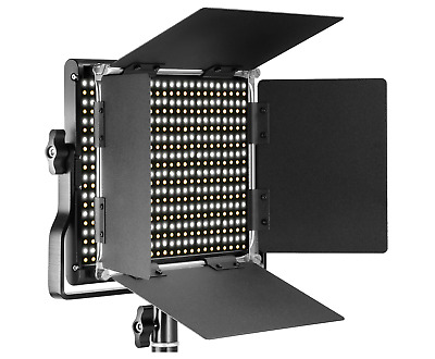 Neewer Professional Metal Bi-color LED Video Light for Studio, YouTube Shooting