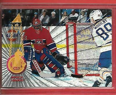 **PATRICK ROY**94-95 Pinnacle Rink Collection #30 PARALLEL (MONTREAL CANADIENS)