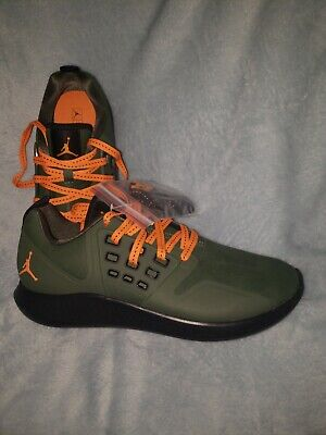 Nike Air Jordan Grind Mens Running Shoes Dark Green   Clementine AA4302 205  NEW 7a23a024e