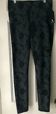 9ff91a632c6 NWT JULES   LEOPOLD Womens Sz Small Floral Slim Leg Ankle Stretch Pull On  Pants