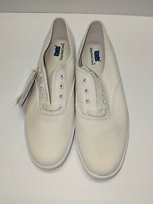 e088721c542 VINTAGE KEDS CHAMPION Oxford Canvas Shoes Women s Size 8.5 S Red New ...