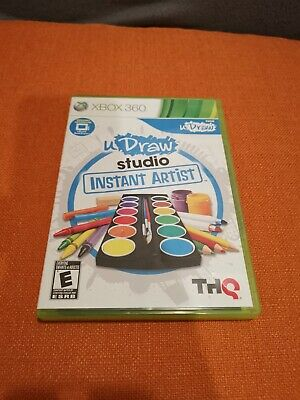 uDraw Studio-Instant Artist - Xbox 360 **FACTORY NEW - FAST SHIPPING**