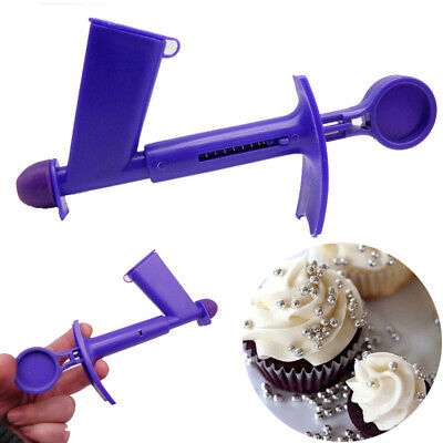 2pcs Plastic Pearl Applicator Fondant Cake Decorating Tool Ball Sugar Silicone