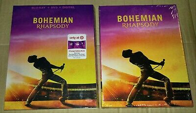New Bohemian Rhapsody Blu-ray/DVD/Digital + Booklet & Slipcover Target Exclusive