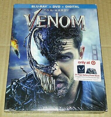New Venom Blu-ray/DVD/DC Target Exclusive + 24 Page Booklet (Not Digibook)