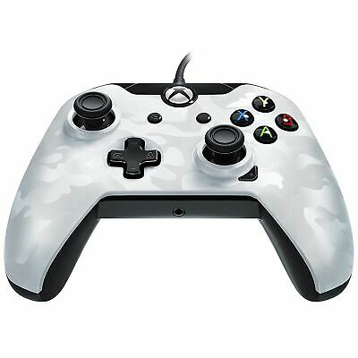 PDP Wired Controller White Camo Xbox One Brand New Sealed Official