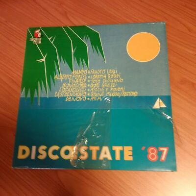 Lp Discoestate '87 Fonit Cetra Tlpx 183  Sigillato Italy Ps 1987 Mcz