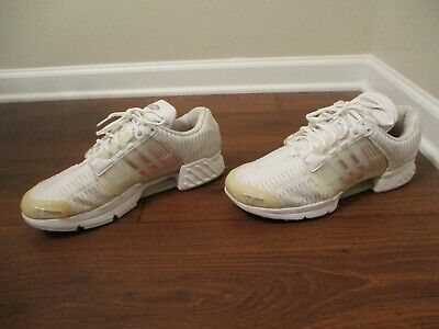 the best attitude 6d820 601ef Used Worn Size 12 Adidas Climacool 1 Shoes Triple White