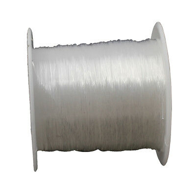 Faden SILIKON SCHMUCKFADEN 0,4mm  Transparent  40 Meter Crystal Thread BEST C137