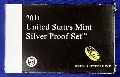 2011-s U.S. SILVER 14 coin  Proof Set. Original as minted by U.S. Mint