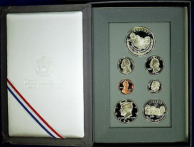 1991 PRESTIGE Proof Set. U.S. Mint Made. Complete & Original. With Box