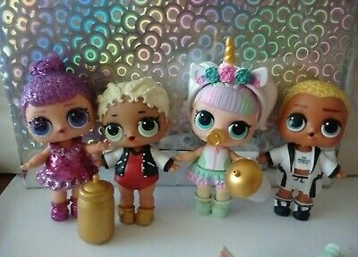 MGA L.O.L. lol Surprise Ball FIZZ Pearl Doll Glam Glitter lil sisters send 10