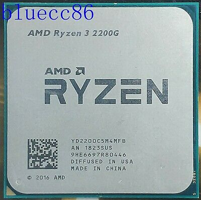 AMD Ryzen 3 2200G 3500MHz 4-Core CPU Processor