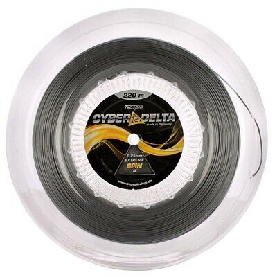 110m Rolle 0,30 EUR//m Topspin Cyber Flash silber 1,30 mm
