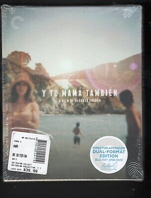 Y Tu Mama Tambien (Blu-ray/DVD, 2014, 3-Disc, Criterion Collection) DUAL FORMAT