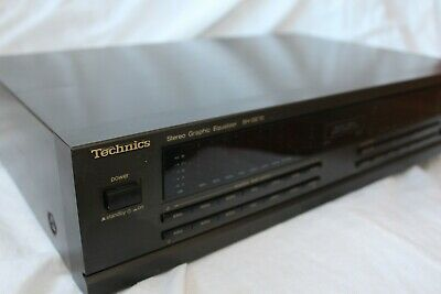 Technics Sh-Ge70 Graphic Equalizer + Free Shipping World Wide