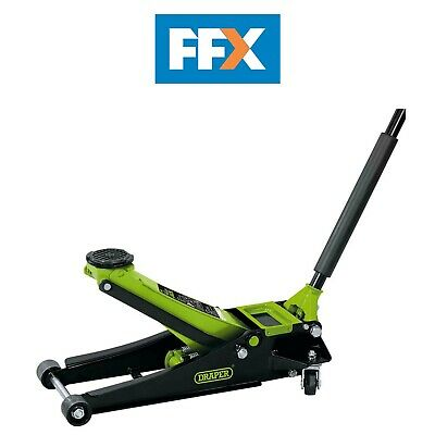 Draper 69671 Low Entry Trolley Jack 2.25 tonne Green