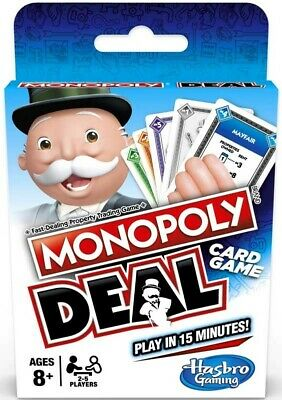 Monopoly Deal Monopoly Brand Deal Card Game Brand New