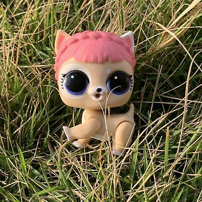LOL Surprise doll FUZZY PETS Makeover Series 5 ICE BARKER BE PLAYED NO FUZZY  sd