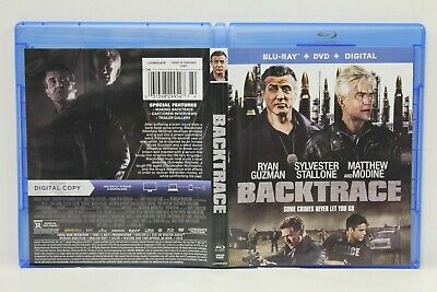 Backtrace (Blu-Ray/DVD, 2-Disc) FREE Shipping Guzman Stallone Modine