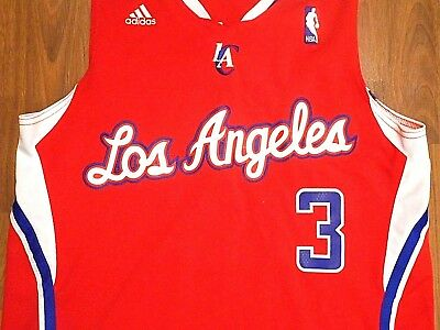 bd0def6f4 CHRIS PAUL  3 STITCHED Los Angeles Clippers Jersey by Adidas