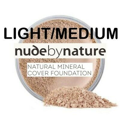Nude by Nature Mineral Cover Foundation Powder 15g LIGHT/MEDIUM