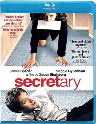 SECRETARY New Sealed Blu-ray James Spader Maggie Gyllenhaal