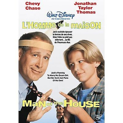 MAN OF THE HOUSE New Sealed DVD Disney Chevy Chase
