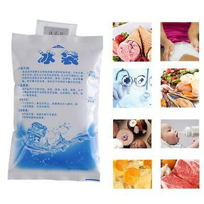 5Pcs Cold Preservation Food Seafood Reusable Dry Cold Gel Ice Pack 100ml-600ml