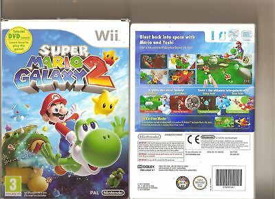 Super Mario Galaxy 2 Nintendo Wii + Tutorial Dvd