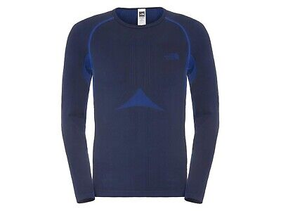 Maglia Strato Base Termica Uomo The North Face Inverno C206A7L  Hybrid Blue
