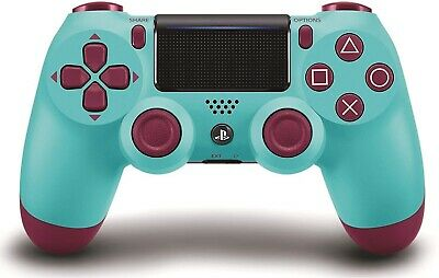 Official PlayStation 4 PS4 Dualshock 4 Wireless Controller ( Berry blue ) NEW