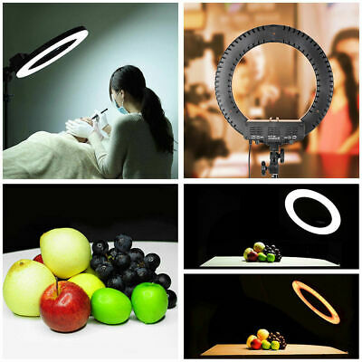 """12"""" LED Ring Light with Stand Dimmable LED Lighting Kit For Makeup Youtube Live"""