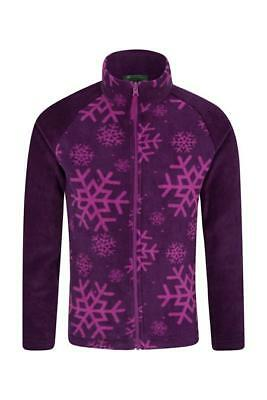 Mountain Warehouse Endeavour Full-Zip Fleece Grape Age 2/3 Years DH083 YY 10